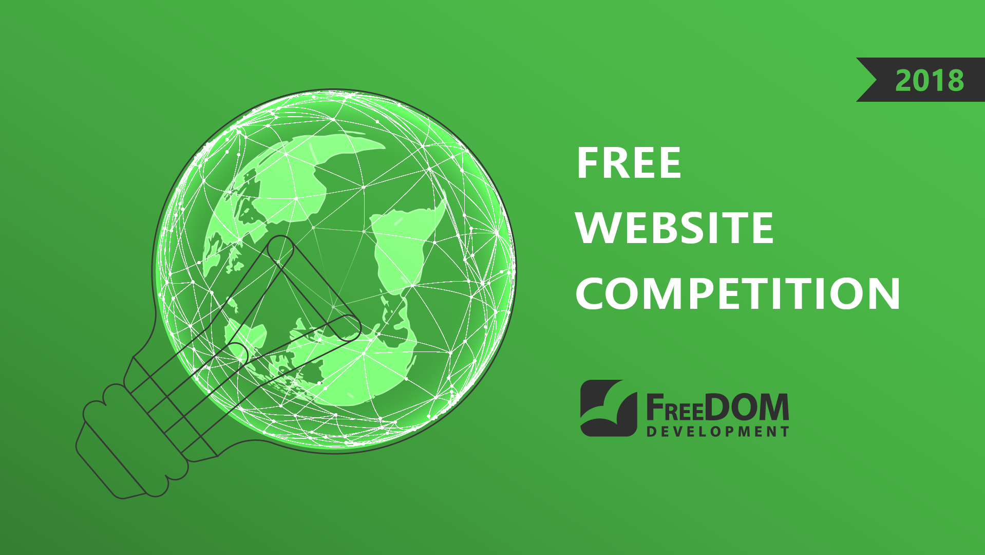 Presenting Free Website Competition 2018 on October 7, at 14:15, hall 1 (3rd floor)